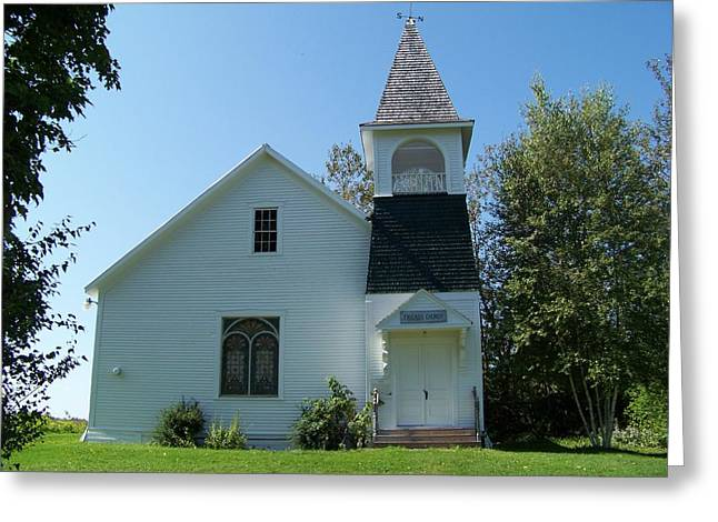 Quaker Greeting Cards - Friends Church Greeting Card by William Tasker