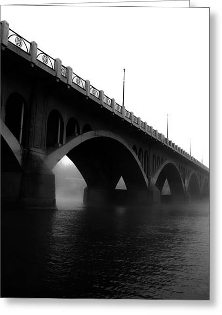 Saskatchewan Photographs Greeting Cards - Friends Under Bridge  Greeting Card by Jerry Cordeiro