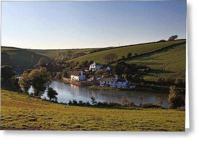 Frogmore Greeting Cards - Frogmore Creek Devon Greeting Card by Ollie Taylor