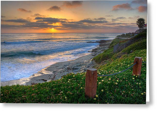 La Jolla Art Greeting Cards - From Above II Greeting Card by Peter Tellone