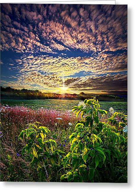 Farming Greeting Cards - From Here To Eternity Greeting Card by Phil Koch