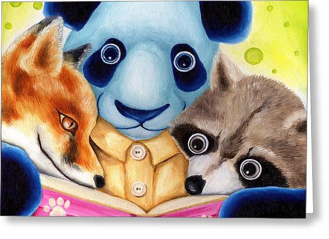 From Okin the Panda illustration 10 Greeting Card by Hiroko Sakai