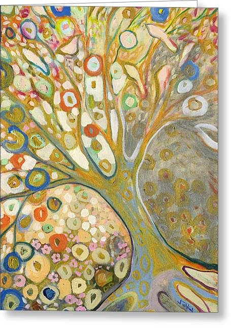 Klimt Greeting Cards - From Out of the Rubble Part B Greeting Card by Jennifer Lommers