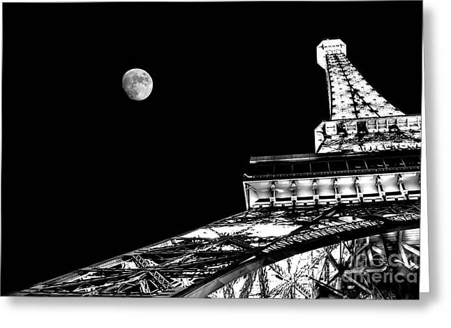 Eiffel Tower Greeting Cards - From Paris With Love Greeting Card by Az Jackson