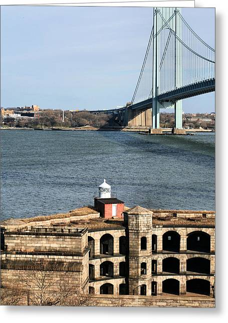 Armory Greeting Cards - From Staten Island Greeting Card by JC Findley