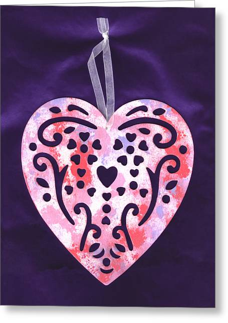 Hearten Greeting Cards - From the Beautiful Heart of a Child Greeting Card by Connie Fox