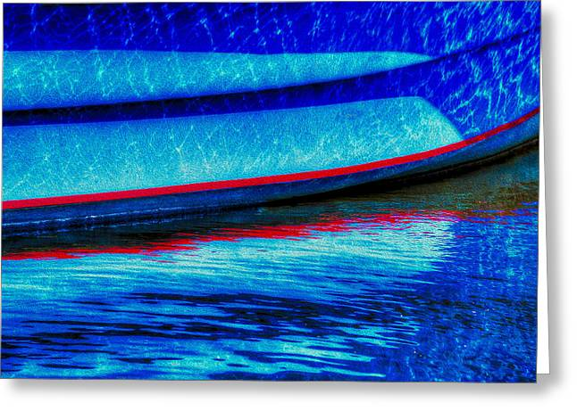 Docked Boats Digital Greeting Cards - From The Hatch Greeting Card by Paul Wear