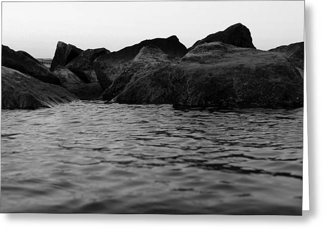 Kelly Photographs Greeting Cards - From the Water Greeting Card by Kelly Howe
