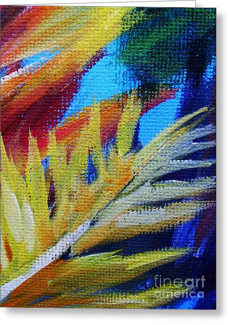 Rothko Greeting Cards - Fronds Greeting Card by John Clark