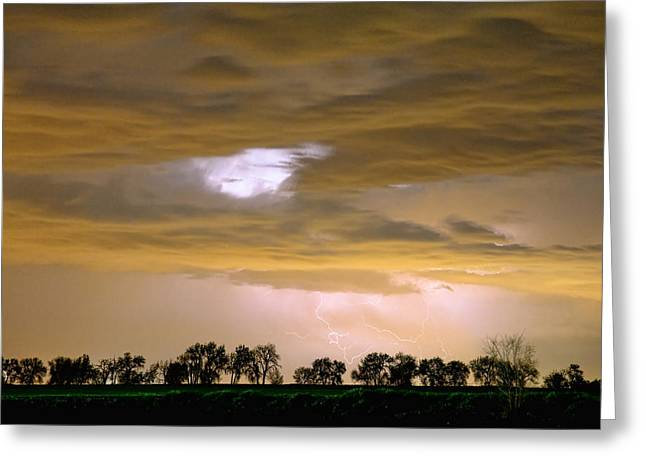 Monsoon Clouds Greeting Cards - Front Row Seat for the Storm Greeting Card by James BO  Insogna