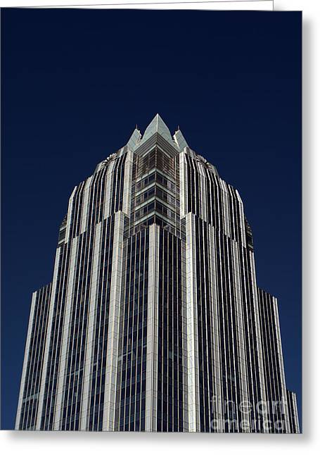 Frost Bank Building Greeting Cards - Frost Tower 2 Greeting Card by Paul Wesson