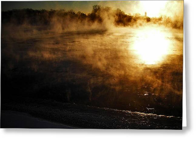 Sonne Greeting Cards - Frosty Morning ... Greeting Card by Juergen Weiss