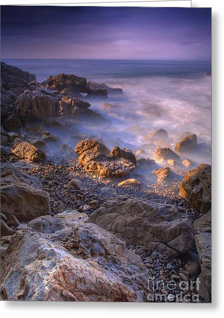 Newport Greeting Cards - Frothy Coast Greeting Card by Marco Crupi