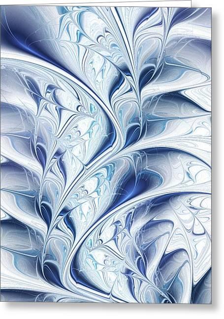 Frozen Greeting Card by Anastasiya Malakhova