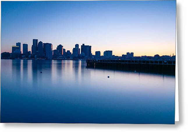 Lee Costa Greeting Cards - Frozen Boston Greeting Card by Lee Costa