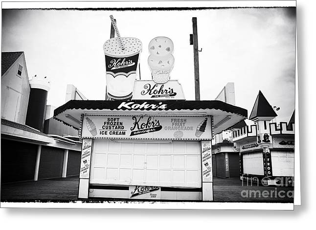 Height Greeting Cards - Frozen Custard Greeting Card by John Rizzuto