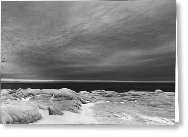 Black Greeting Cards - Frozen Dreams Greeting Card by Scott Norris