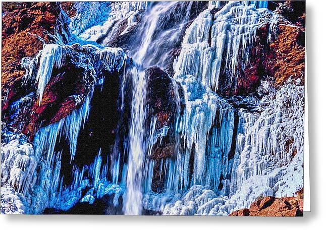 Frozen In Motion Greeting Card by Bob and Nadine Johnston