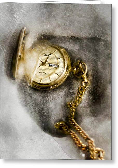 Timepieces Greeting Cards - Frozen In Time Greeting Card by Peter Chilelli
