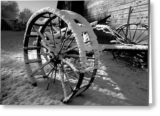Yesterday Greeting Cards - Frozen In Time Greeting Card by Steven Milner