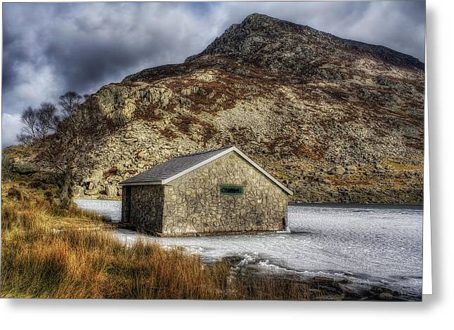 Beautiful Scenery Greeting Cards - Frozen Lake Greeting Card by Ian Mitchell