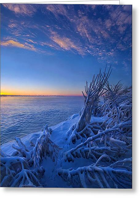 Sunrise Greeting Cards - Frozen Moments in Time Greeting Card by Phil Koch