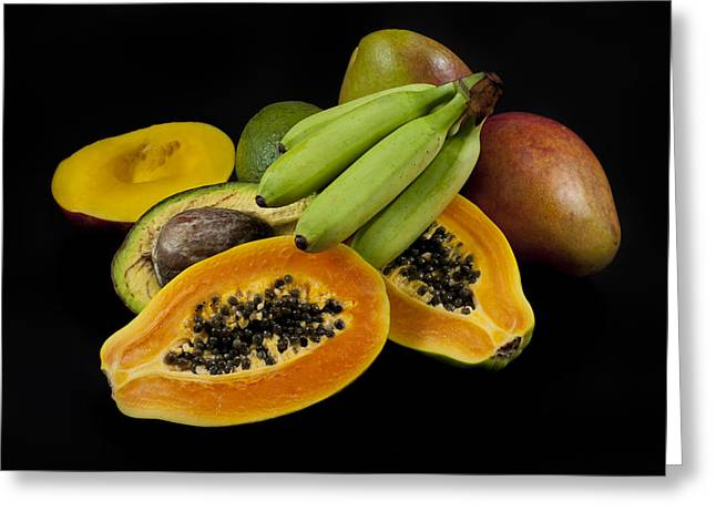 Exotic Fruit Greeting Cards - Fruit Greeting Card by Alessandro Matarazzo