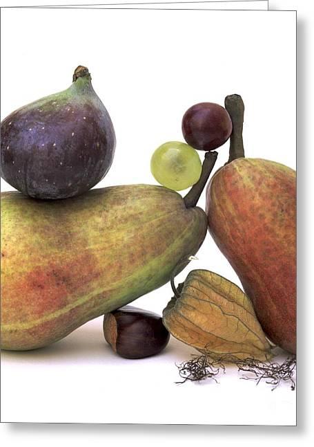 Figs Greeting Cards - Fruit variety Greeting Card by Bernard Jaubert