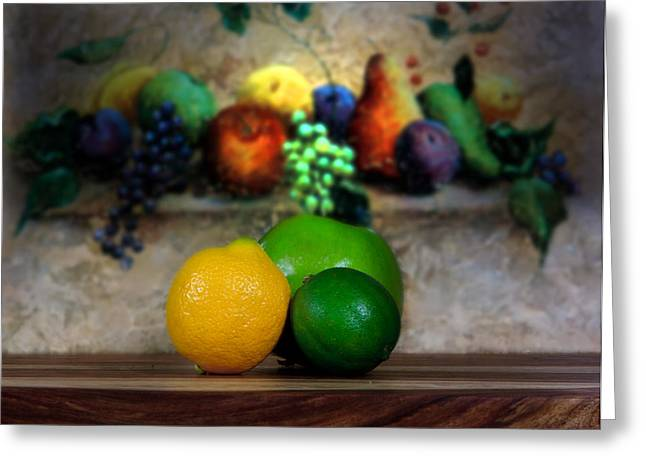 Fruits Galore Greeting Card by Cecil Fuselier