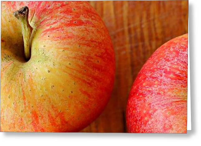 Slimline Greeting Cards - Fruity Greeting Card by Clare Bevan