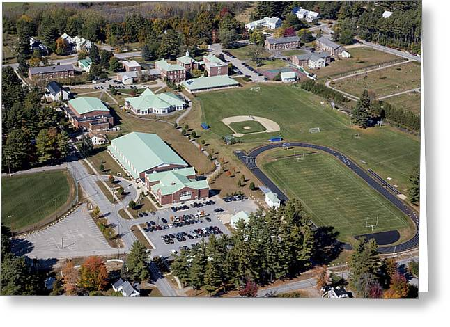 Self-knowledge Greeting Cards - Fryeburg Academy, Maine Me Greeting Card by Dave Cleaveland