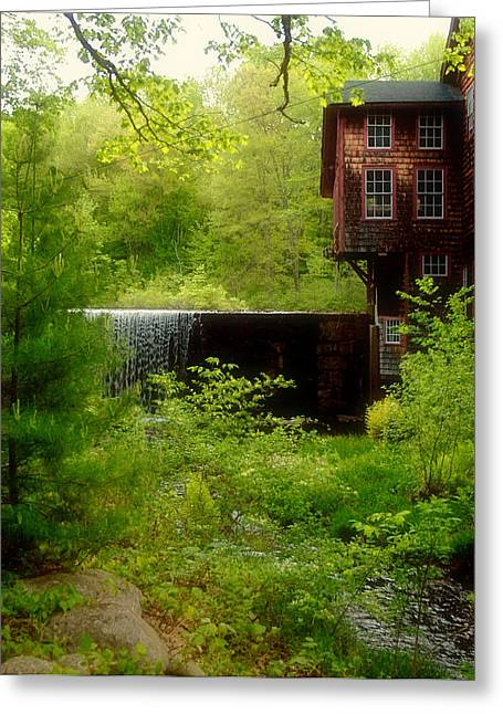 Spring Scenes Greeting Cards - Frys Measure Mill 2 Greeting Card by Joann Vitali