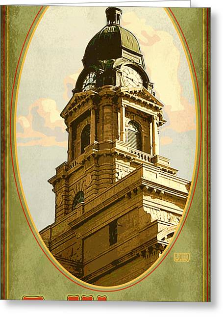 Ft Worth Greeting Cards - Ft. Worth Texas Greeting Card by Jim Sanders