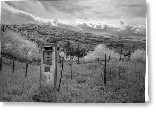 Antique Artwork Greeting Cards - Fuel the Valley Greeting Card by Jon Glaser