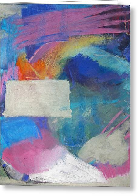 Nature Abstracts Pastels Greeting Cards - Fulcrum Two Greeting Card by  Tolere