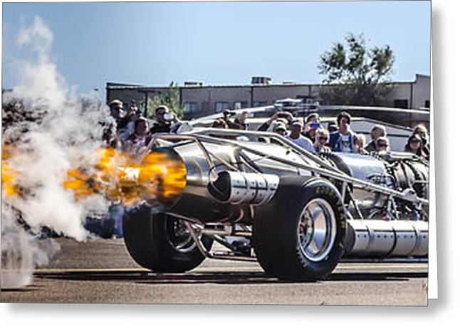 Prescott Greeting Cards - Full Afterburner Greeting Card by Alan Marlowe