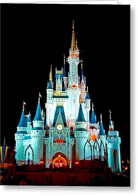 Cinderella Photographs Greeting Cards - Full Frontal Greeting Card by Greg Fortier