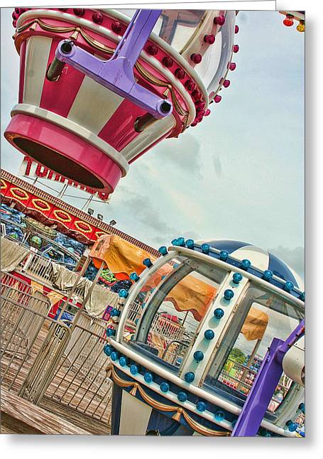 Faire Greeting Cards - Fun Fair Greeting Card by Heather Applegate