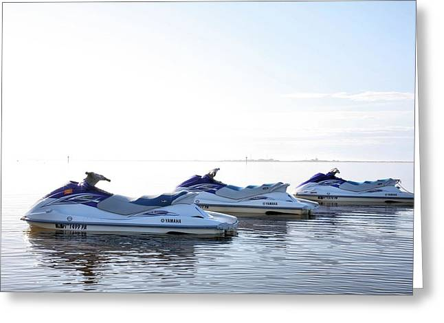 Florida Panhandle Greeting Cards - Fun in Navarre Greeting Card by JC Findley