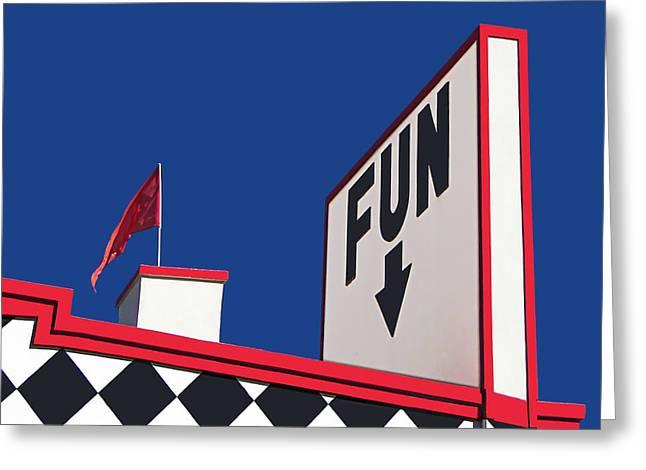 FUN Greeting Card by Nikolyn McDonald