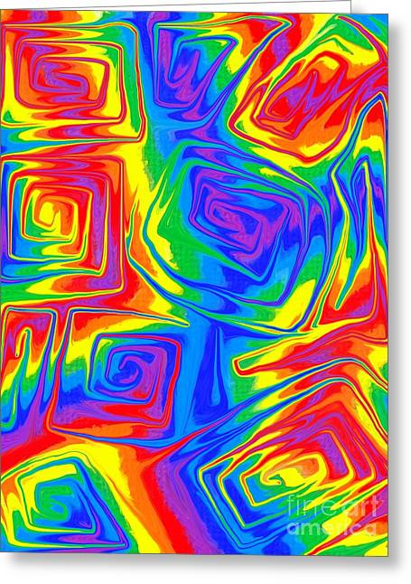 Colourful Greeting Cards - Funk Greeting Card by Chris Butler