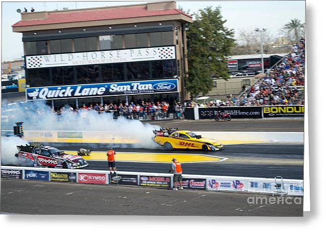 Print Photographs Greeting Cards - Funny Cars Greeting Card by Beverly Guilliams