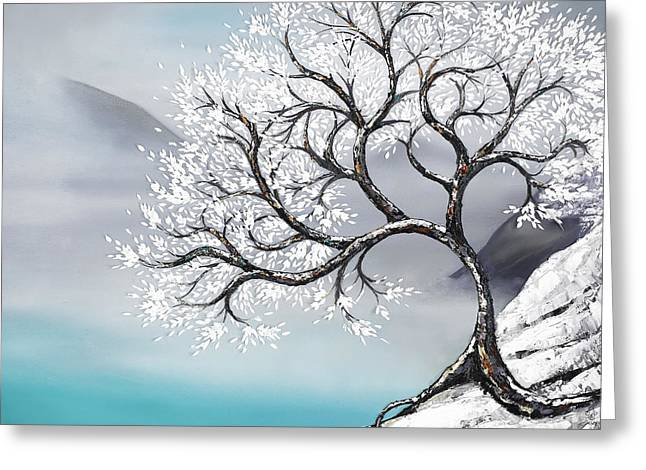 Tree Roots Paintings Greeting Cards - Fur Elise Greeting Card by Ali Mignonne