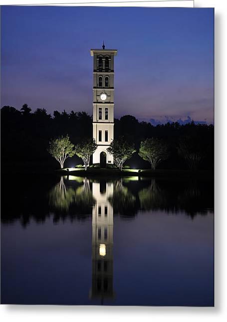 Furman Greeting Cards - Furman University Bell Tower #1 Greeting Card by Calvin Kelley