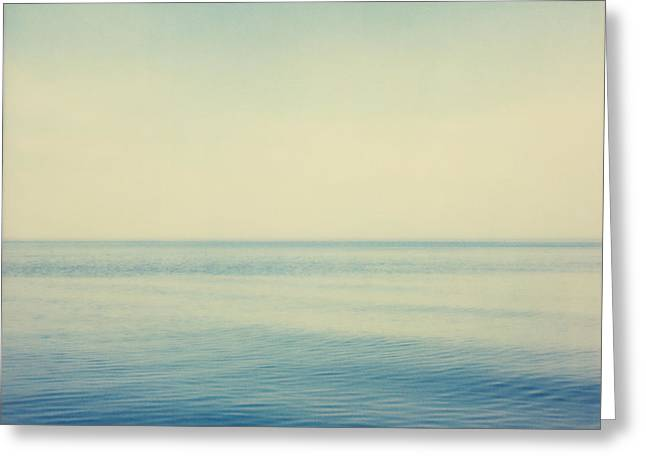 Peaceful Scenery Greeting Cards - Fv4281, Bert Klassen Water And Sky Greeting Card by Bert Klassen