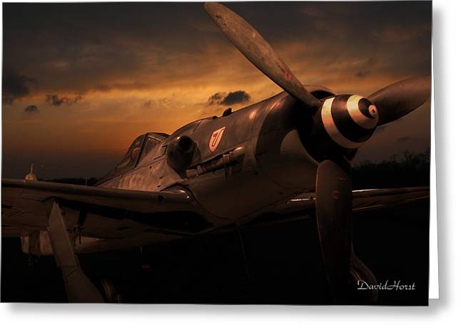 Geschwader Greeting Cards - Fw 190D-9 Greeting Card by David Horst