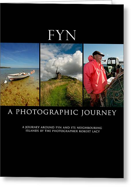 Fyn Greeting Cards - FYN Book Poster Greeting Card by Robert Lacy