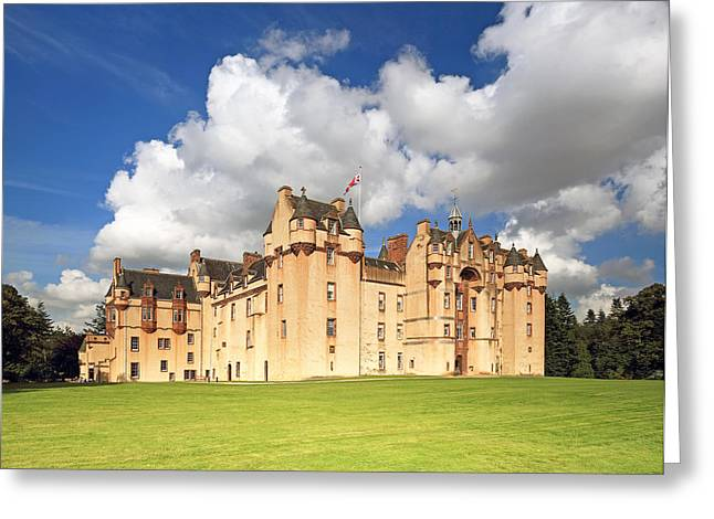 Scottish Scenic Greeting Cards - Fyvie Castle Greeting Card by Grant Glendinning