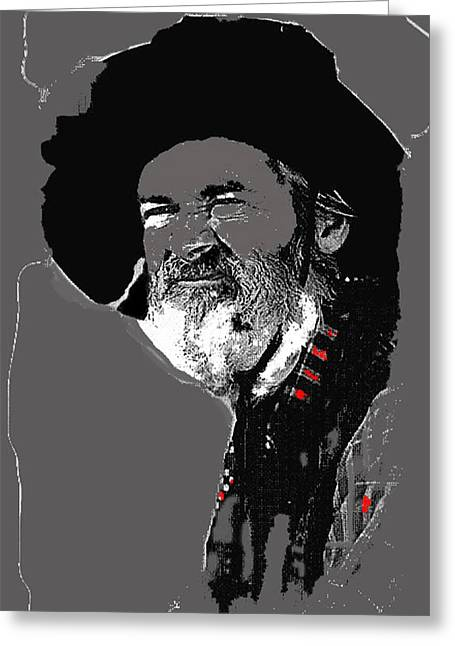 Quaker Oats Greeting Cards - Gabby Hayes #3 Greeting Card by David Lee Guss