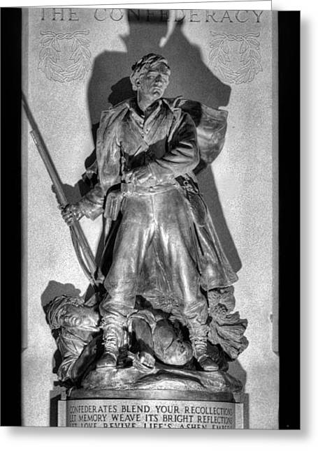 Statue Of Confederate Soldier Greeting Cards - Gabriel James Boney  Greeting Card by JC Findley